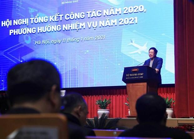越南政府副总理兼外交部长范平明:坚决斗争 维护海洋岛屿主权 hinh anh 2