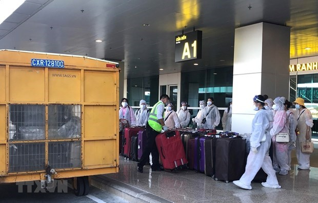 越南新增两例境外输入性新冠肺炎确诊病例 hinh anh 1