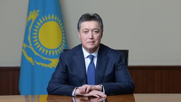 阮春福总理致电祝贺阿斯卡尔·马明当选哈萨克斯坦政府总理 hinh anh 1