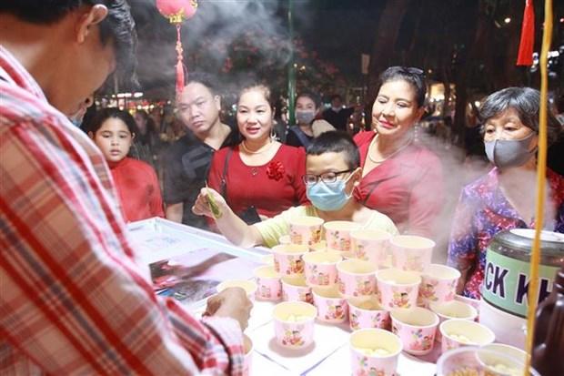 数千人参加2021 年越南春节文化活动 hinh anh 2