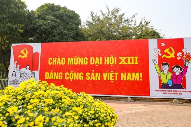 古巴共产党中央委员会致越南共产党第十三次全国代表大会的贺电 hinh anh 1