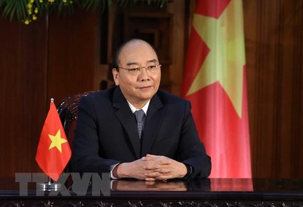 越南政府总理阮春福向气候适应峰会发表致辞 hinh anh 1