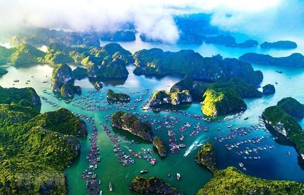 """越南""""下龙湾-吉婆群岛""""申请成为世界遗产的档案完善 hinh anh 1"""