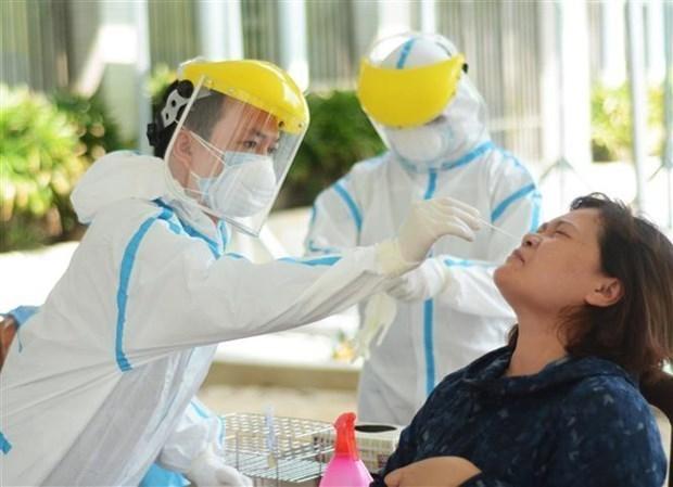 胡志明市新增一例新冠肺炎确诊病例 与海阳省有关 hinh anh 1