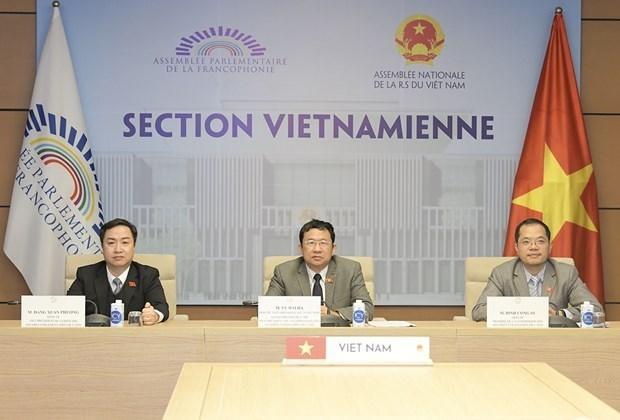 越南出席法语国家议会联盟大会 hinh anh 1