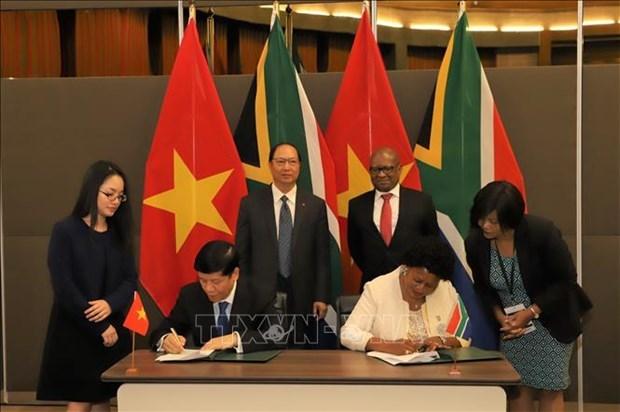 越共十三大:南非媒体高度评价越南全方位且现代外交 hinh anh 1