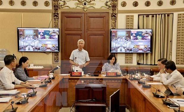 新冠肺炎疫情:胡志明市出现一例复阳病例 hinh anh 2