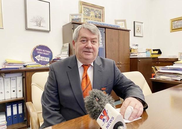 越共十三大:捷克中议院第一副议长称越南共产党的作用日益得到肯定 hinh anh 1
