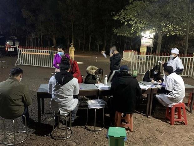 卫生部要求对从海阳省和广宁省两省疫区来返人员进行健康申报及检测 hinh anh 2