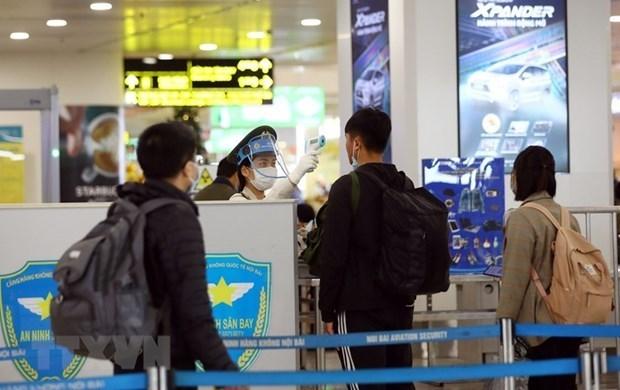 越南航空业将新冠肺炎疫情预警级别上调至最高级别 hinh anh 1