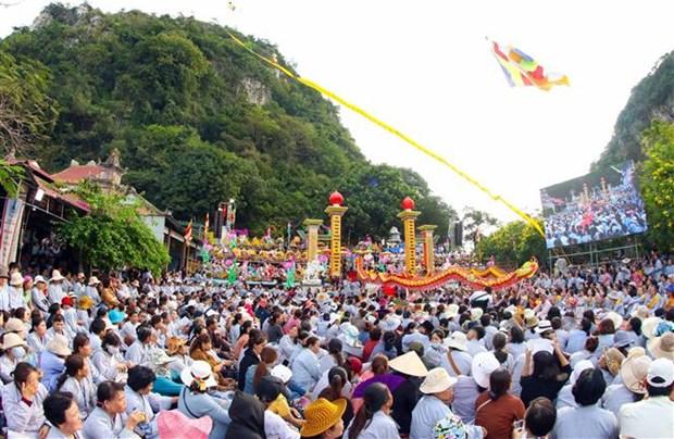 岘港市五行山观世音菩萨庙会被列入国家非物质文化遗产名录 hinh anh 2