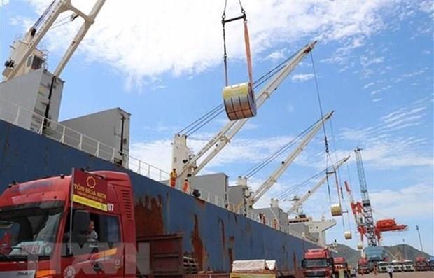 年初至今全国商品进出口总额达745.1亿美元 hinh anh 1