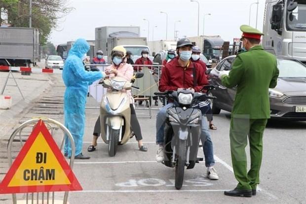 海阳省采取措施控制5个重点疫区 hinh anh 1