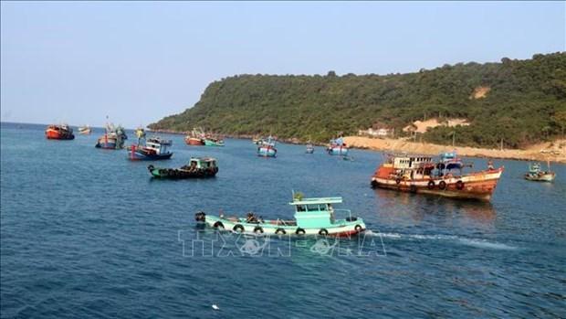 越南政府颁发有关将特定海域交给组织和个人管理的新规定 hinh anh 1