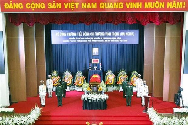 原政府副总理张永仲追悼会和安葬仪式在槟椥省举行 hinh anh 2