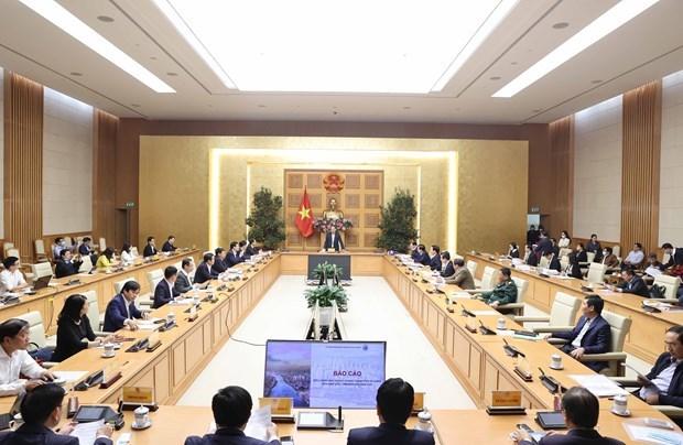 阮春福总理主持关于岘港市总体规划的会议 hinh anh 2