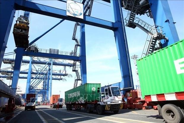 2021年前2个月越南的商品进出口总值同比增长24.5% hinh anh 1
