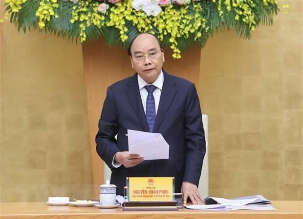 越南政府总理阮春福:电子政务的发展是本届政府任期内的亮点 hinh anh 1