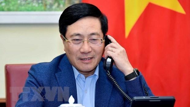 越南与新西兰外交部加强团结协作 hinh anh 1