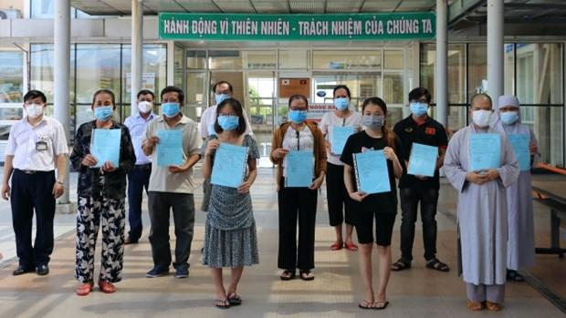 新冠肺炎疫情:无新增确诊病例 治愈病例共计2198例 hinh anh 1