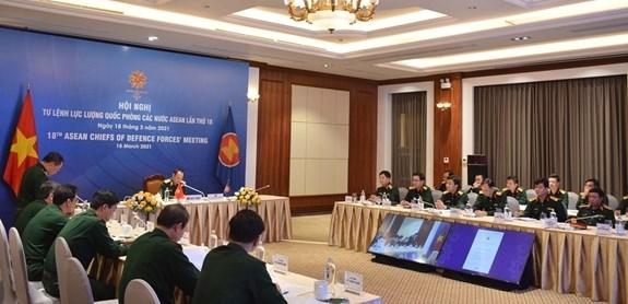 越南参加第18届东盟国防力量司令会议 hinh anh 2