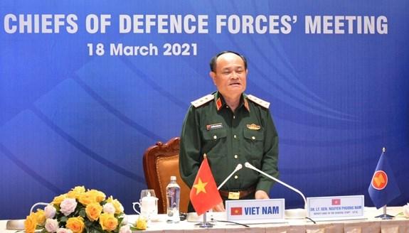 越南参加第18届东盟国防力量司令会议 hinh anh 1