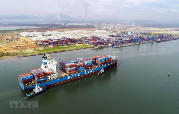 今年前2月外资企业实现外贸顺差55亿美元 hinh anh 1