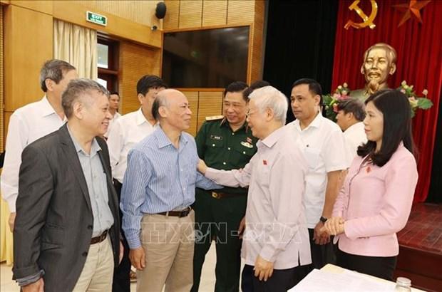 2016-2021年任期:国家主席有效执行任务和履行好自己的职责 hinh anh 2