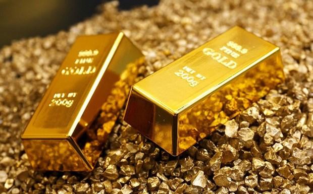 22日上午越南国内市场黄金价格每两下调15万越盾 hinh anh 1