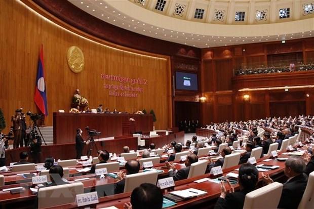 老挝国会通过政府成员名单 hinh anh 1