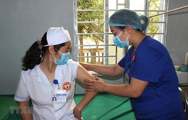 3月22日上午越南无新增新冠肺炎确诊病例 新冠疫苗接种人数33891人 hinh anh 1