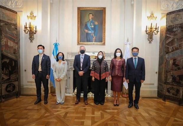阿根廷促进与东盟的合作 hinh anh 1