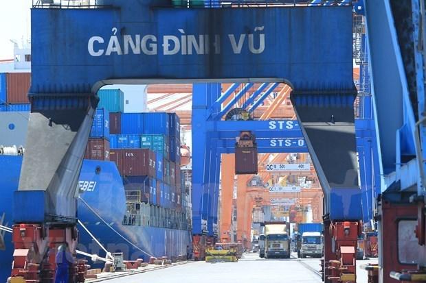 2021年前两月越南出口活动呈现复苏向好态势 hinh anh 1