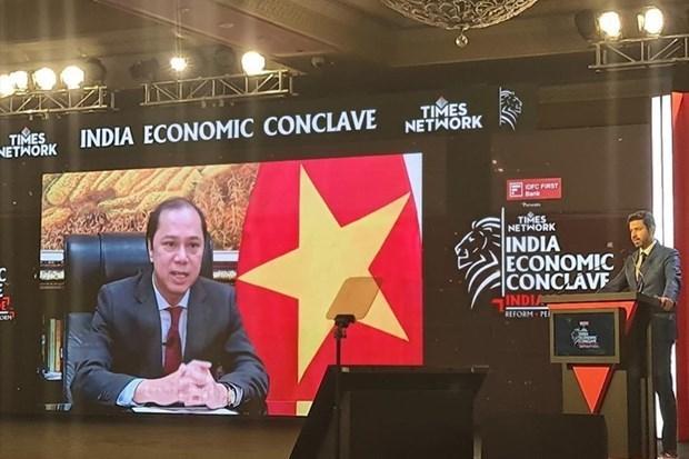 越南与印度进一步加强供应链对接方面的合作 hinh anh 1