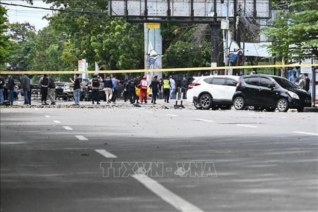 越南与联合国安理会:谴责印度尼西亚望加锡恐袭事件 hinh anh 1