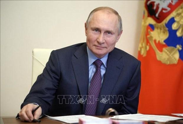 俄罗斯总统决定向越南驻俄大使和越南人民军将领授予友谊勋章 hinh anh 1