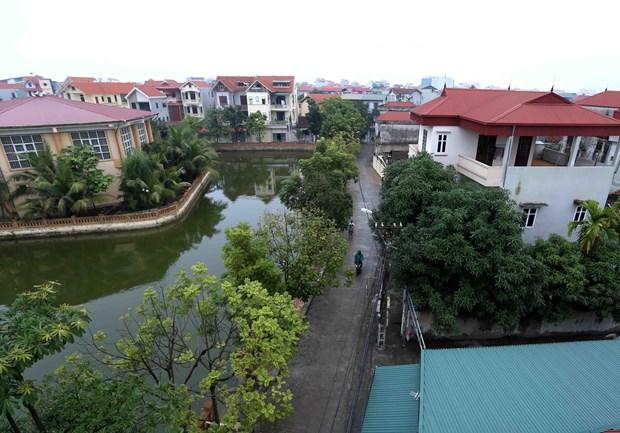 丹凤力争成为河内新农村建设升级版标准的第一县 hinh anh 1