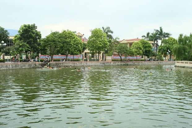 丹凤力争成为河内新农村建设升级版标准的第一县 hinh anh 3