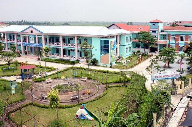 丹凤力争成为河内新农村建设升级版标准的第一县 hinh anh 2