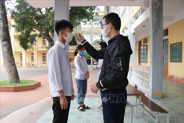 越南无新增病例 50例呈阴性反应 hinh anh 1