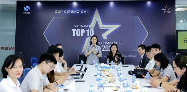 2021年越南信息技术企业10强活动正式启动 hinh anh 1