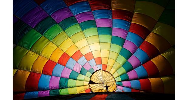越南热气球摄影作品跻身美国著名杂志最佳摄影作品行列 hinh anh 1