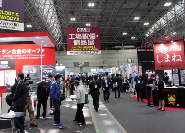 越南企业参加日本最大机械要素技术展 hinh anh 1