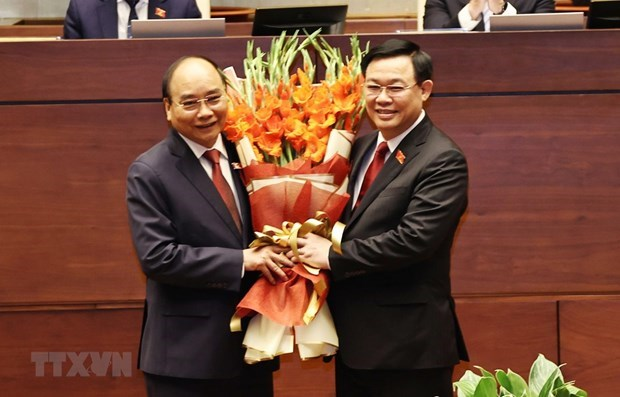 外国领导人发来贺电祝贺越南新一届领导人 hinh anh 1