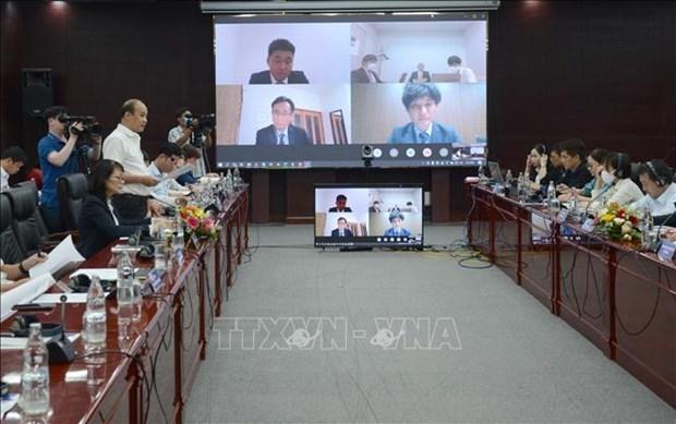JICA驻越首席代表:岘港市莲沼港投入运营越早越好 hinh anh 1