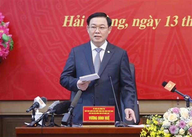 王廷惠:换届选举工作必须坚持民主公正客观 确保选出满足选民心愿的优秀代表 hinh anh 2
