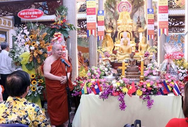 柬老缅泰等国传统新年庆祝活动在胡志明市举行 hinh anh 2