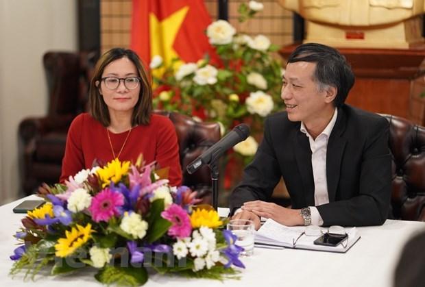 越南驻澳大利亚大使馆确定实施越共十三大提出的目标的核心任务 hinh anh 1