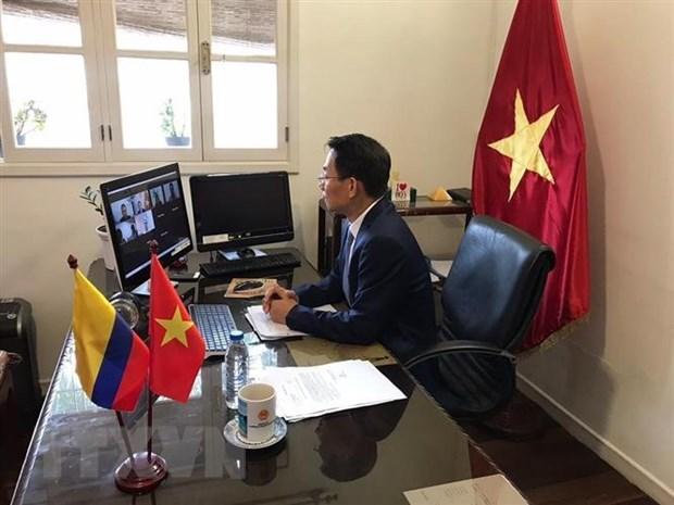 越南与哥伦比亚加强经贸合作 hinh anh 2