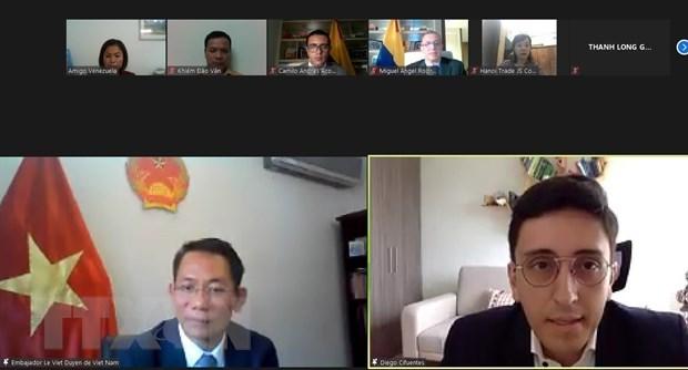 越南与哥伦比亚加强经贸合作 hinh anh 1
